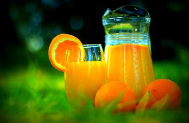 Alimentos con ácido fólico: la naranja