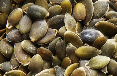 Zinc en el embarazo: semillas de calabazo