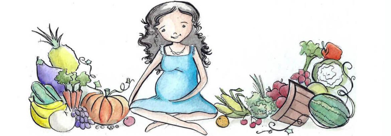 Embarazo Vegetariano Header